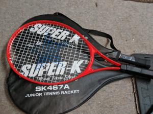 Two Junior tennis rackets