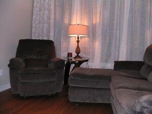 mobilier de salon Relaxon de Elran de couleur gris