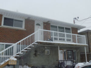 Spacious 2nd storey 2 bedroom apt available immediately
