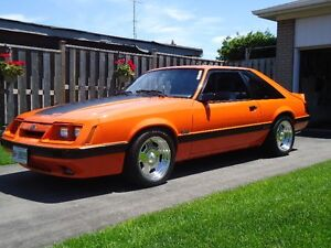 1985 Ford Mustang GT Hatchback,  $19,500  OBO/Trade