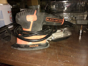 Black & Decker sander with micro filtration or best offer