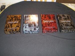 4 Coffrets DVD de James Bond 007 jamais visionnés. Québec City Québec image 1