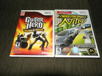 Wii Games Good Condition, Best Offer