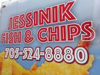 Full/Part - Time Summer Employment at Jessinik Fish & Chips