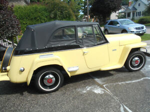 RARE OPPORTUNITY    WILLYS JEEPSTER