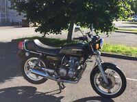 1979 Honda CB650Z classic motorcycle.