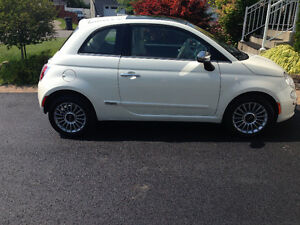 2013 Fiat 500 Lounge Coupé  (TAXES INCLUSES !)