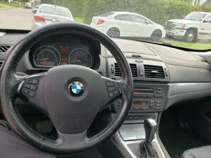 BMW X3 30I, 2009 , AWD , CUIR , PANO , BLACK
