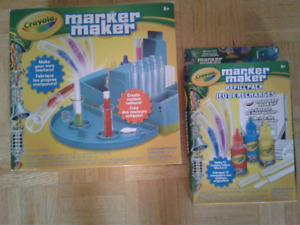 Crayola Marker Maker Kit + Refill Pack