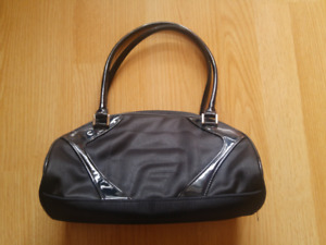 Vintage black FUBU handbag, like new!