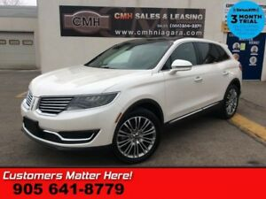 2016 Lincoln MKX Reserve  AWD NAV COOLED-SEATS PANO-ROOF P/GATE
