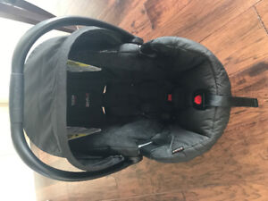 Britax Car Seat with base and cover