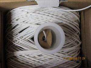 NETWORK WIRE 24 AWG CAT 5E INDOOR / OUTDOOR