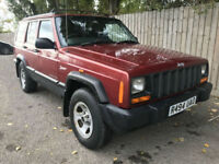 1998 Jeep Cherokee 2.5TD Sport 4X4 Manual 35.3 MPG