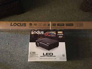 Locus projector and screen