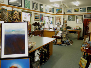 Picture Framing Shop and Gallery for sale