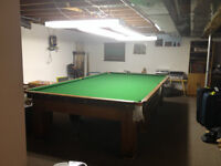 6 x 12 Burroughes & Watts Snooker Table