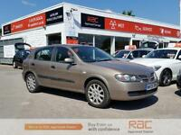 NISSAN ALMERA S, Brown, Manual, Petrol, 2006