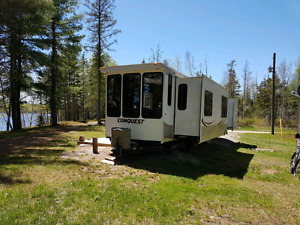 40 Foot  Conquest by Gulf Stream Park Model Trailer