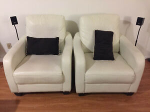 Sofa Arm Chairs for Sale (2 pieces) - Immediate Sale