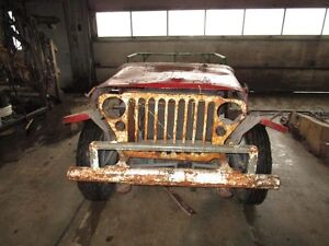 1942 willys jeep project London Ontario image 1