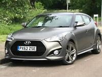 2012 Hyundai Veloster 1.6 T-GDi Turbo S 4dr
