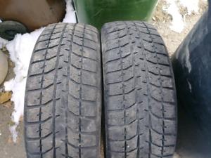 2x pneus hiver 225/60R17