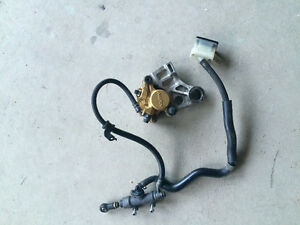 Honda rear brake assembly