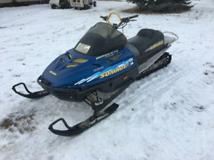 1998 Ski Doo Summit 670X H.O. 144""