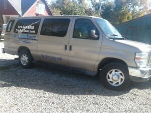 15 Passenger Econoline - Save half on fuel costs!  See descripti