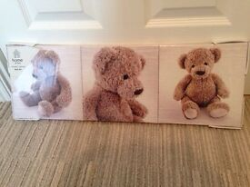 Teddy bear canvas