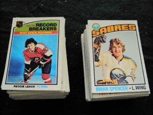 1976-77 OPC hockey card singles