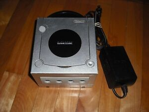 Console Nintendo Gamecube Grise De Remplacement Fonctionelle