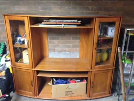 Modular wall TV unit | Entertainment & TV Units | Gumtree Australia ...