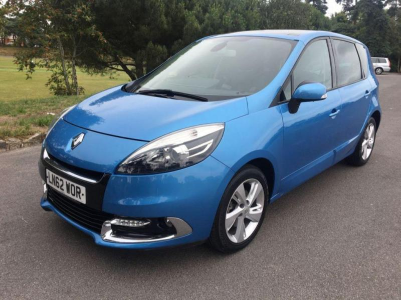 2012 62 RENAULT SCENIC 1.5 DYNAMIQUE TOMTOM ENERGY DCI S/S 5D 110 BHP DIESEL