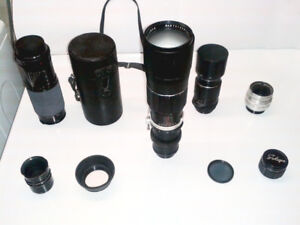 COLLECTION OF LENSES & ACCESSORIES