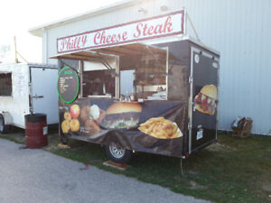 Small Food Trailer