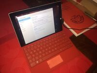 Microsoft surface 3 128gb with keyboard new replacement from microsoft
