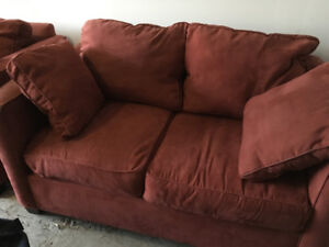Two Seat Couch- Microfibre