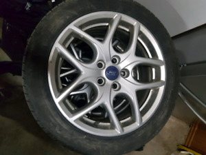 "5x108 17"" rims and tires TRADE OR SELL"