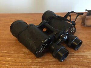Vintage Zenith Canon Binoculars with original case.