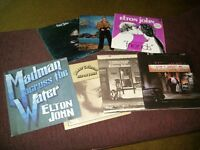 Elton John LP collection