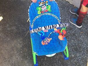 Baby play mat and chair