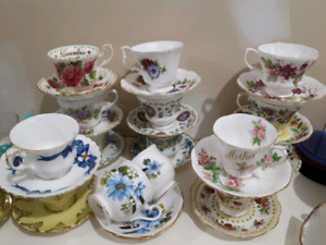 Royal Albert Cups and Saucers China Dishes