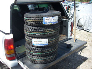 "SOLD. SOLD. FOUR NEW 175 70R 13"" WEATHERMAXX ARTIC WINTER TIRES."