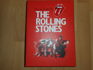 Rolling Stones Hardcover Biography Mint shape