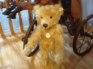 Steiff Teddy Boy 1905 Kitchener / Waterloo Kitchener Area image 2