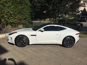 2016 Jaguar F-Type Coupe, 6spd manual,Lease Takeover, 14 months!