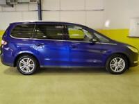 2016 Ford Galaxy 2.0 TDCi 150 Titanium 5dr Powershift Diesel blue Automatic