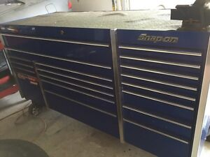 Snap On Tool Chest with Mechanic's Tools